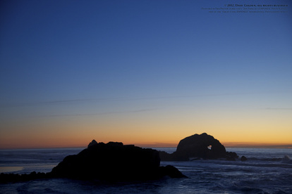 Picture from the Sutro Bath Ruins in San Francisco.  Part of the online artistic photography exhibit,