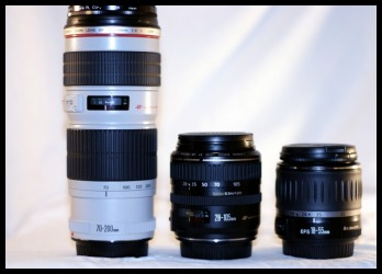 Interchangeable DSLR Lenses - visit www.freephotocourse.com