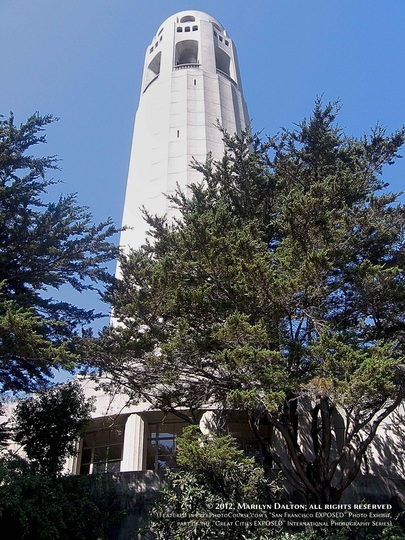 Picture of the Coit Tower, San Francisco. Part of FreePhotoCourse.com's