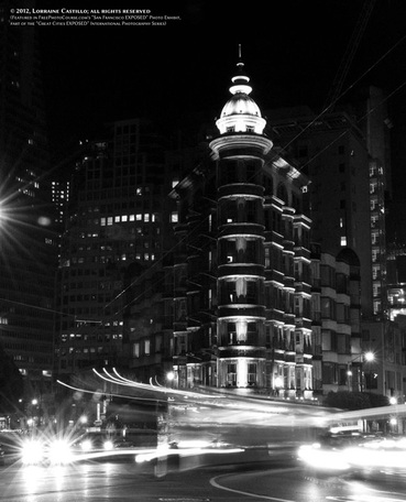 Picture of the Columbus Tower, San Francisco. Part of FreePhotoCourse.com's