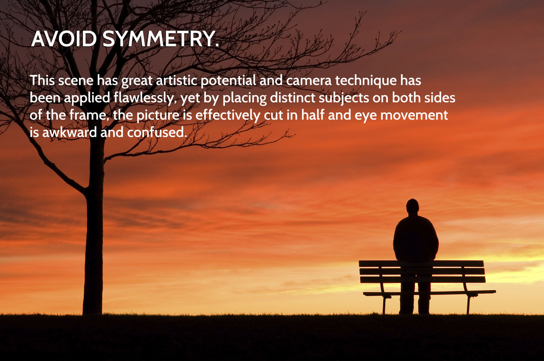 Rule of Thirds in Photography - Avoiding Symmetry